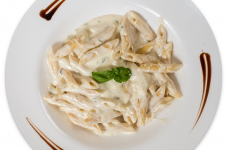 FOUR-CHEESE PENNE